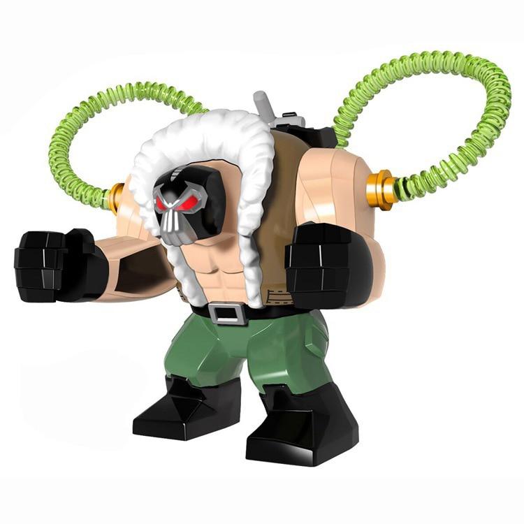 Super hero, juguete de bloques de construcción, Gotham, gran CityVillain Bain, gran modelo de juguetes de personajes
