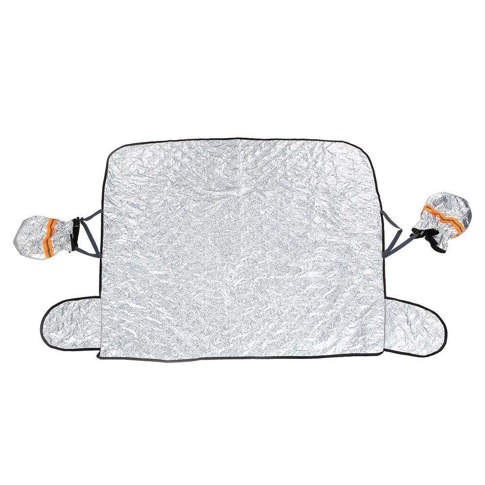 Universal Windshield Sunshade Foldable Front And Rear Window Shade Sun Snow Car Winter Accessories