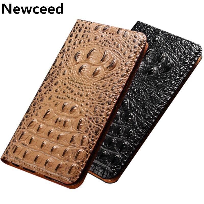 Crocodile back pattern natural leather phone case for Samsung Galaxy A51 A11 A21 A31 A41 A70E A71 A81 A91 M31 M21 holster case