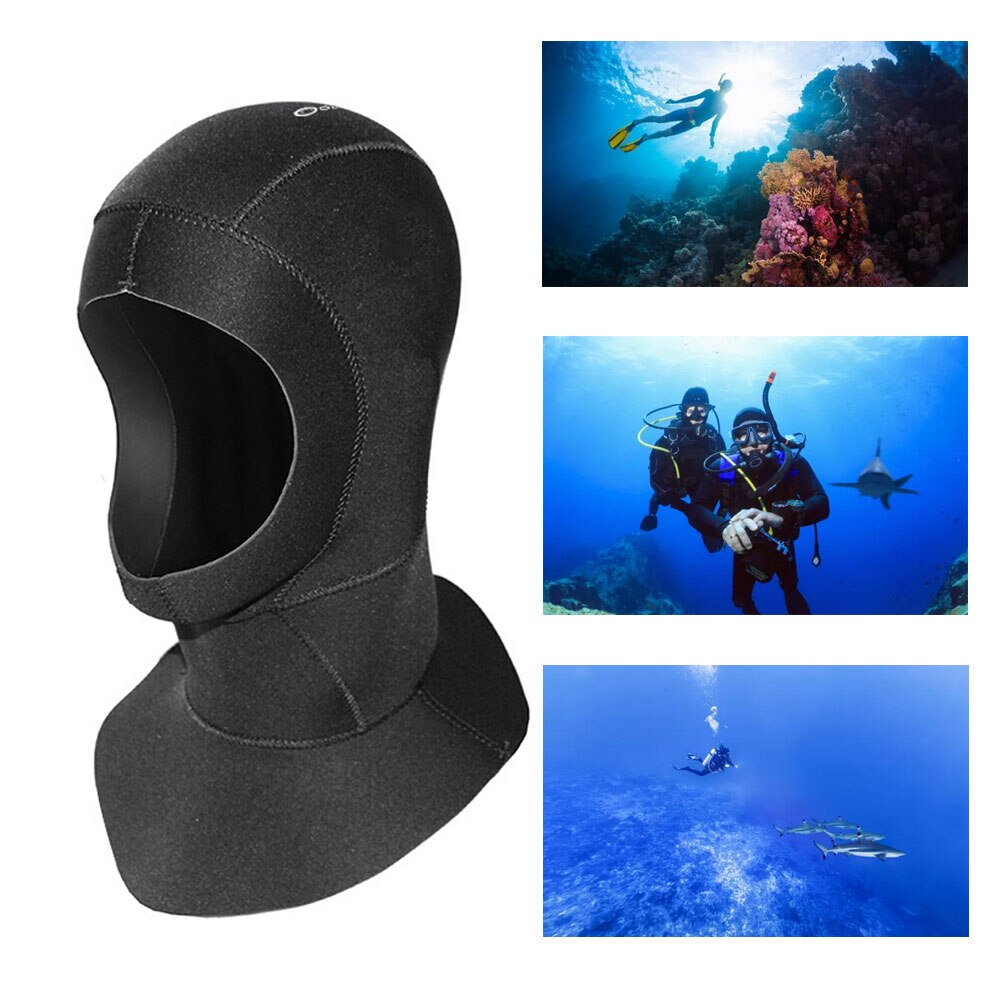Wetsuit Hood Diving Surf Hood Hat Under Water Head Cover Protector For Sea Water Sports Scuba Diving Snorkeling Wetsuit Helmet