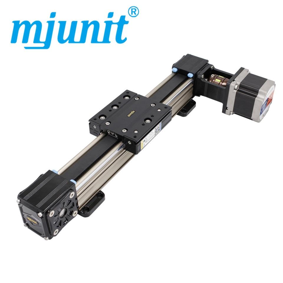Mjuint طول طويل مع سرعة عالية وكتم غير قياسي التخصيص متزامن حزام دليل خطي وحدة الشريحة الجدول