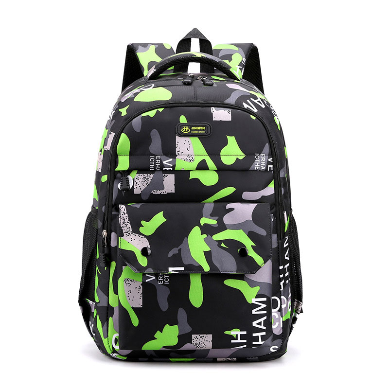 Фото - Backpack 2021 New Fashion Camouflage Business Leisure Bag Junior High School Students Trend Shoulder Bag Back To School 2021 four piece set primary school students grade 3 6 junior high school students color contrast backpack hand bag fashion
