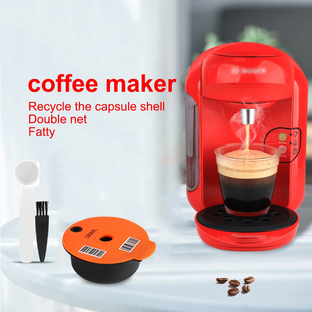 Reusable Coffee Capsule for Bosch-s Tassimo Series Coffee Machines Refillable Coffee Maker Coffee Filter Espresso Capsules