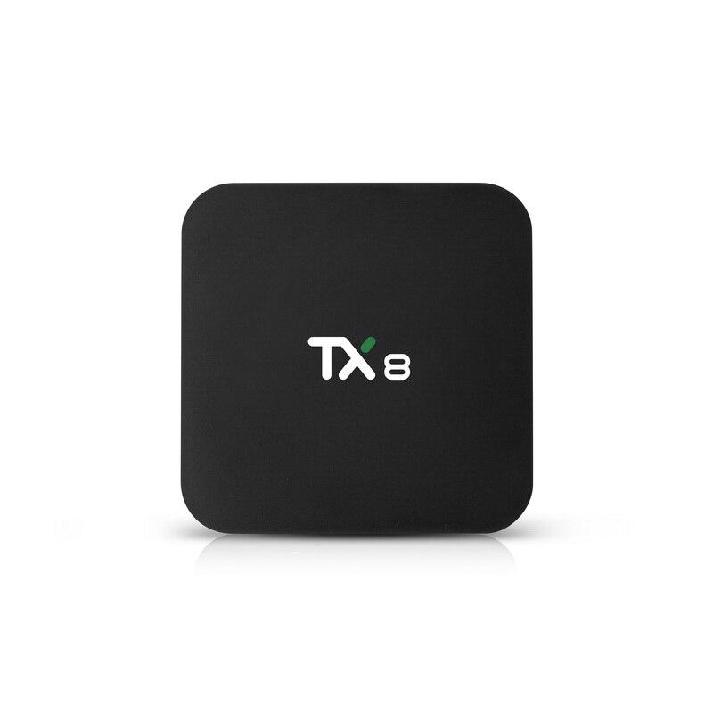 10 unids/lote TX8 TV BOX rockchip rk3318 quad core android 9,0 os 3318 4gb de ram 32gb 64gb rom 4k smart dual wifi hd tv box