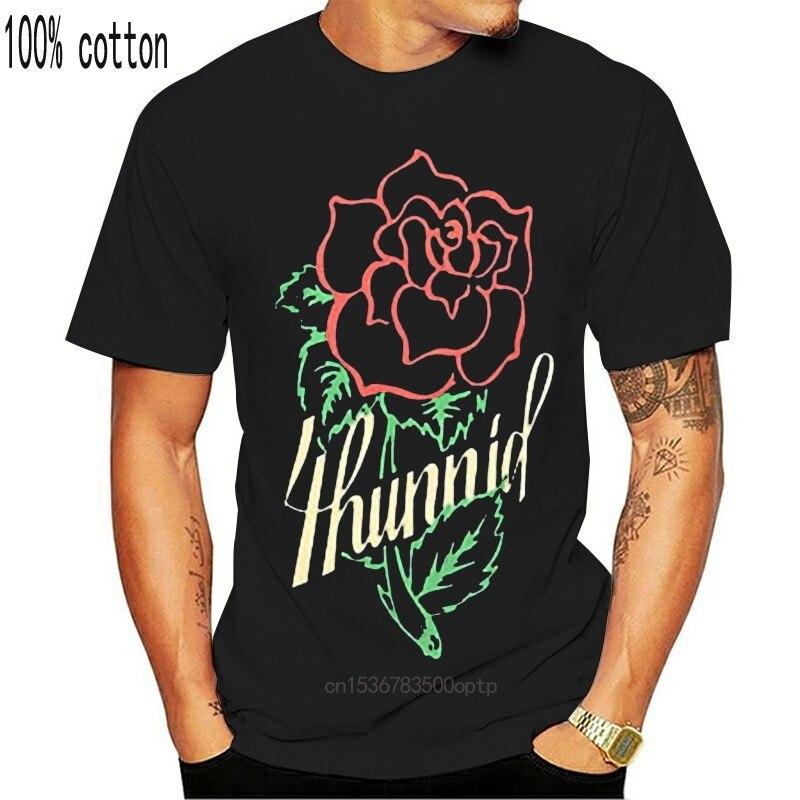 TENTACION 4 HUNNID POR YG T-Shirt Preto NWT 100% Autêntico Verão T da forma Dos Homens, Confortável t shirt, de Manga Curta Casuais TEE