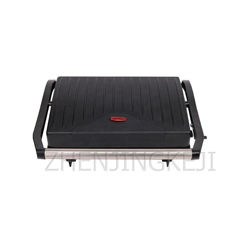 آلة تسخين شرائح اللحم 220 فولت/800 وات للاستخدام المنزلي ، على الوجهين ، للإفطار ، التوست ، الهامبرغر ، اللحوم المقلية ، الشواء ، أجهزة الطبخ