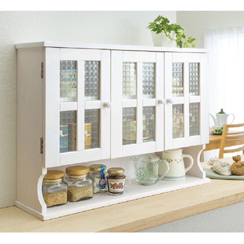 Gabinete lateral de madera sólida japonés de exportación, gabinete de cocina, gabinete de condimentos, gabinete de tazón, gabinete de agua