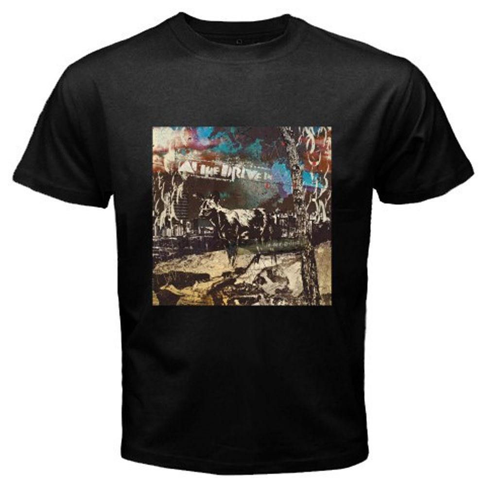En el disco Drive In inter alia hombres camiseta negra talla S-3XL