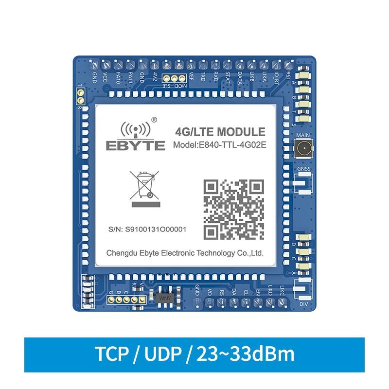 Cojxu E840-TTL-4G02E 4G LTE беспроводной модуль M2M устройства с последовательным портом сетевые серверы передачи данных 150 м высокоскоростной UDP/TCP