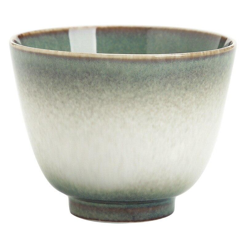 Ero horno taza de té hecha a mano pura taza maestro cerámica taza de té Kungfu taza japonesa creativa para Puer
