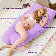 Housse de coussin en forme de U   Housse de maternité, pour grossesse et bras de petit ami, housses de couchage C44