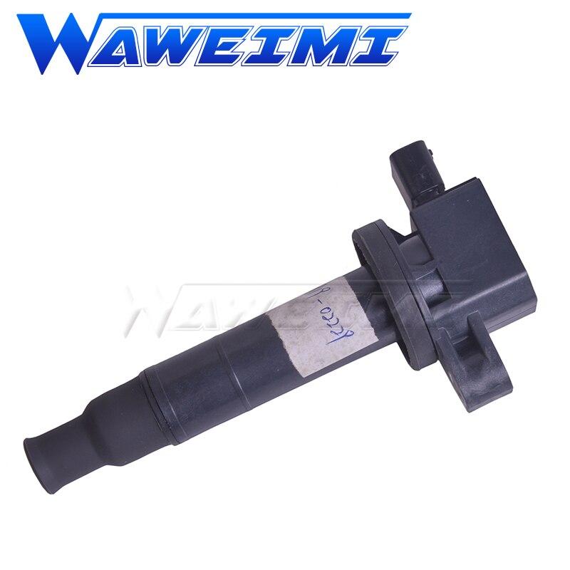 WAWEIMI bobina de encendido 90919-02229 para Toyota Echo Vitz Prius Platz Yaris 1,3, 1,5, 1999-2005, 9091902229, 90919-02240, 90919-02265