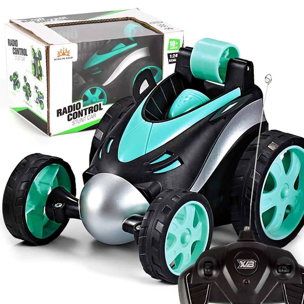 New Wireless Remote Control Stunt Dancing Car Boy Kid's Toys 360 Tumbling Roller Rotating Wheel Vehicle Toy enlarge