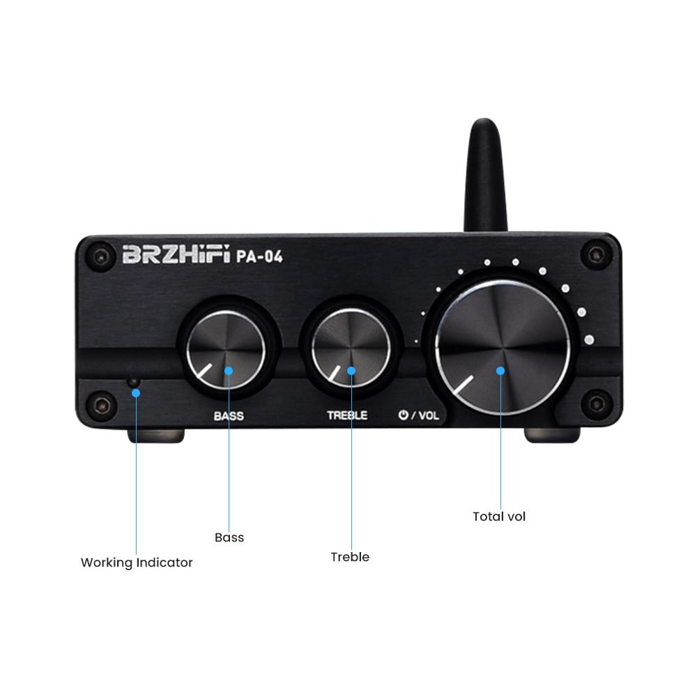 Brzhifi Hifi Tpa3116 Amplifier 100w 2 Csr8675 Bluetooth 5 0 Aptx Tpa3116x2 Stereo 2 0 2 1 Channel Subwoofer Audio Amplifier Amplifier Aliexpress