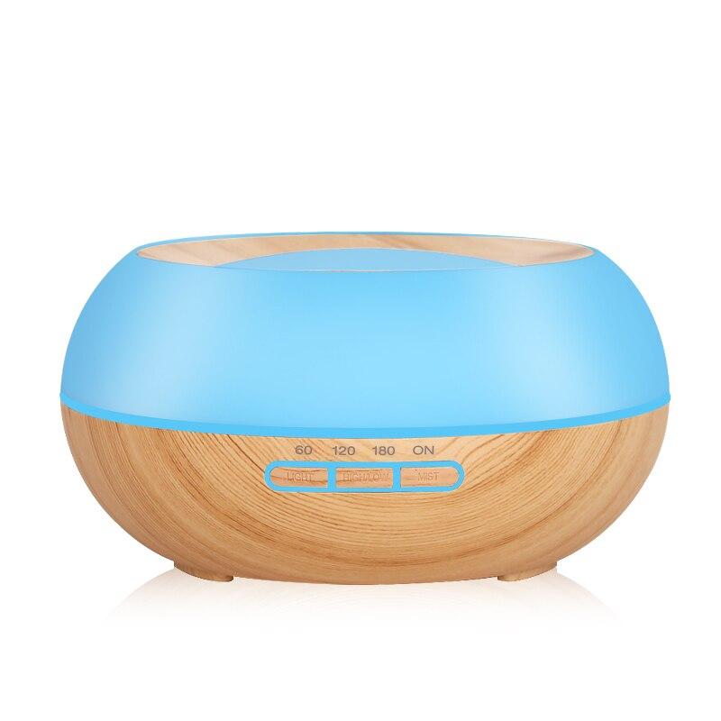 Difusor de aceites esenciales de 300 ml, Humidificador ultrasónico de niebla fría, luz LED de noche para la oficina, dormitorio, sala de estar, Yoga SPA