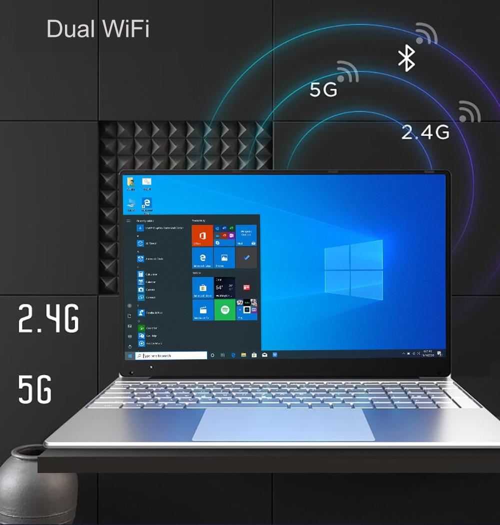 Intel Notebook 15.6 inch Windows 10 Pro 1920*1080 Cheap Portable Laptop 12GB RAM 256GB/512GB/1TB SSD HDMI Port Laptop