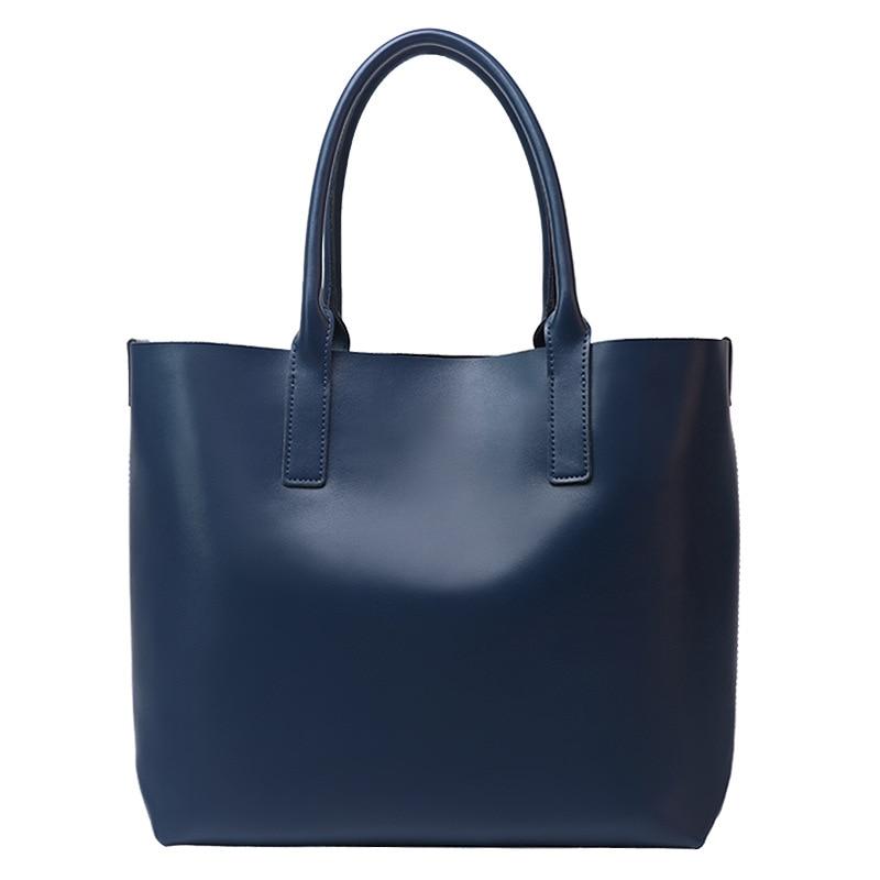 جلد طبيعي المرأة عادية الصلبة حقيبة يد كبيرة اليد اليدوية عالية الجودة