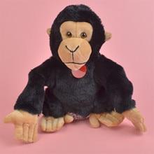 Juguete de peluche de aprendizaje de títeres de mano chimpancé, orangután de peluche para bebés/niños, juguete para regalo
