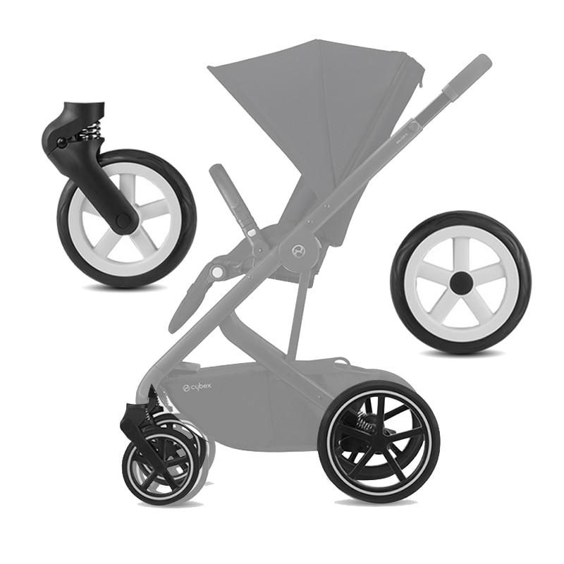 عربة عجلات ل Cybex Mios Eezy S/S +/تويست بريام 2019 Bailos S عربة متوافق مع العجلات الأمامية والخلفية عربة اطفال اكسسوارات