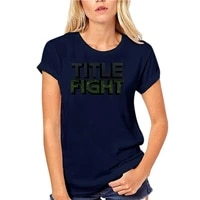 title fight logo t shirt title fight emo