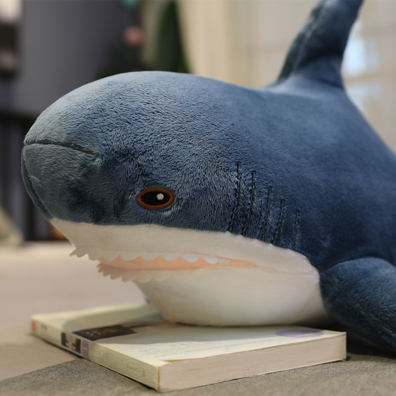 Big Size Soft Shark Plush Toy Stuffed Toys Plush Toys Sleeping Cute Pillow Cushion Stuffed Animal Gift For Children Home Decora  - buy with discount