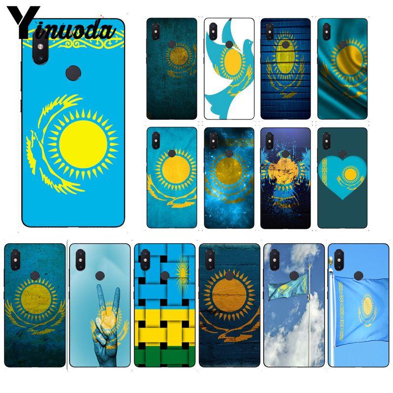 Yinuoda Kazakhstan coque de téléphone drapeau pour Huawei P20 P30 P20Pro P20Lite P30Lite P Smart P10 9 Lite