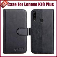 "Hot! Lenovo K10 Plus Case 6.26"" High Quality 6 Colors Flip Soft Leather Phone Wallet Cover For Lenovo K10 Plus Case Card Slots"
