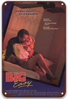 sfasf the big easy 1986 tin signs vintage movies classic for bedroom custom garden kitchen outdoors 8x12 inches