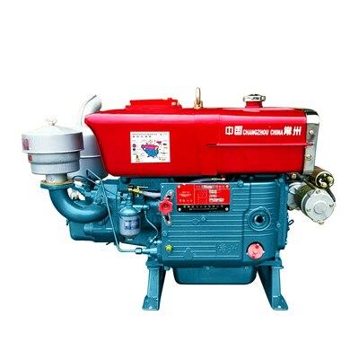 محرك الديزل اسطوانة واحدة المياه المبردة 12 18 35 كامل حصانا محرك دراجة ثلاثية العجلات البحرية الصغيرة