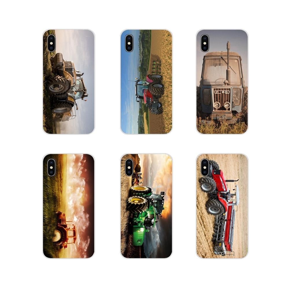 For Samsung Galaxy J1 J2 J3 J4 J5 J6 J7 J8 Plus 2018 Prime 2015 2016 2017 TPU Shell Case Massey Ferguson Tractors Car Art Poster