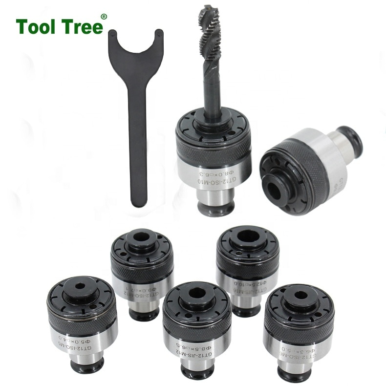 Machine Tools MT4MT5GT12Tap Holder  Quick Change Tap  Adapter Tapping Collet Chuck for Milling Working enlarge