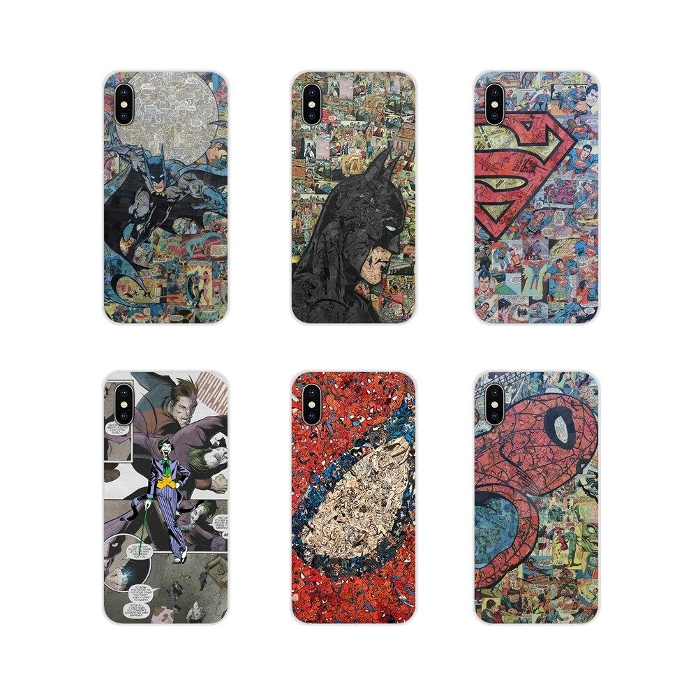 dc comic spiderman superheroes jakeru Design Cover For LG G3 G4 Mini G5 G6 G7 Q6 Q7 Q8 Q9 V10 V20 V30 X Power 2 3 K10 K4 K8 2017