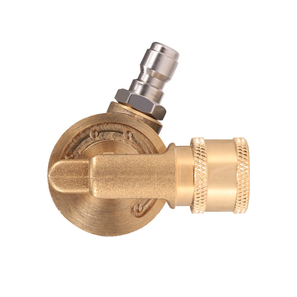 Pivoting Coupler Rotary Joint Accessories For 240 Degree 4500 PSI Groove Cleaner Rotary Joint For High Pressure Washer Nozzle