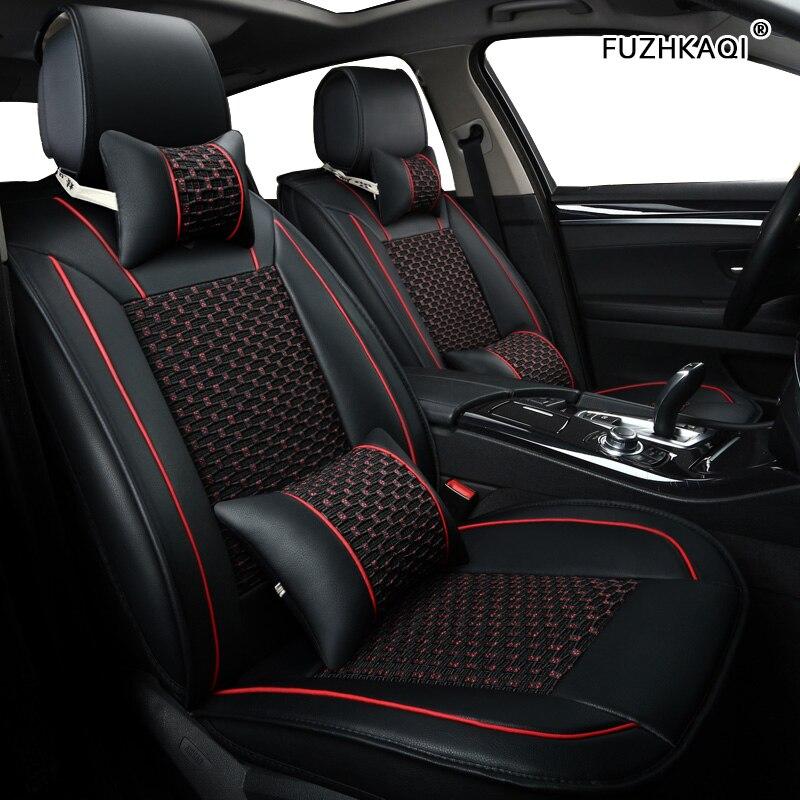 FUZHKAQI 1pcs car seat covers For opel zafira tourer astra g h k insignia 2014 meriva b vectra c mokka accessories seat covers