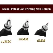 12MM 10MM 6MM Fuel Primer Bulb Hand Pump Diesel Petrol Gas Priming Non Return