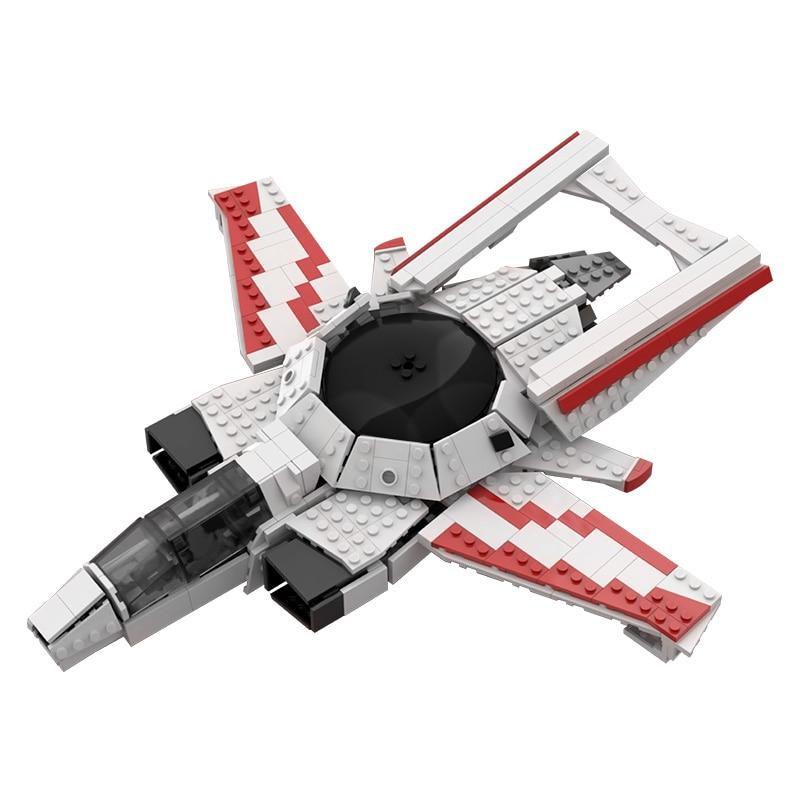 MOC-50399 Anviling-Hornet Heartseeker Colors Creative Building Blocks Bricks Collection Movie Series Educational Model Toys Gift