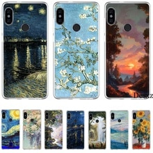Phone Case For Xiaomi Redmi GO 7 S2 4A 4X 5 5A Plus 6 6A 8A 7A K20 Pro Cover Claude Monet Art Protection