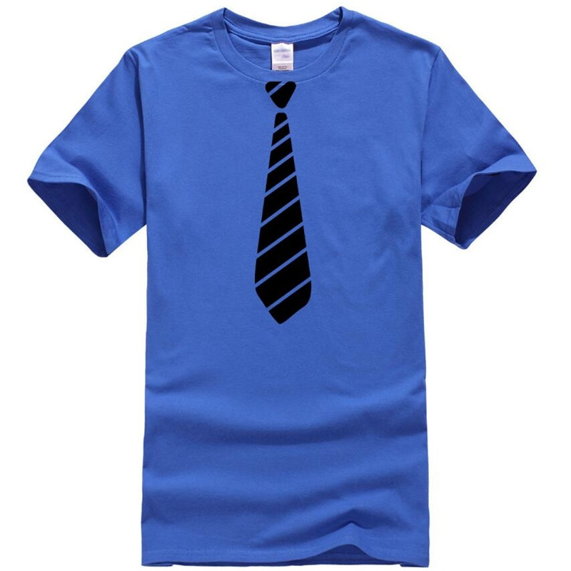 ZNG 2020 الصيف تي شيرت رجالي رابطة عنق قطنية مطبوعة الجدة عادية قمصان أنيقة س الرقبة تي شيرت الرجال سليم القمم محب