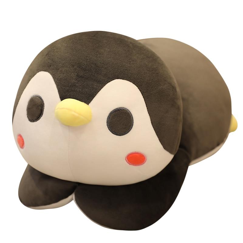 Новинка, Лидер продаж, большая мягкая плюшевая игрушка пингвин, мультяшная кукла-животное, модная для детей, милая девочка, Р...