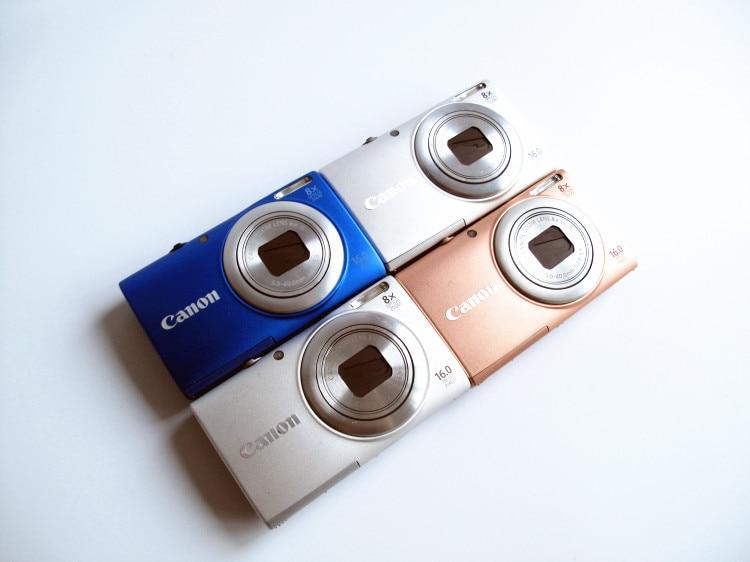 -Cámara Digital Canon PowerShot A4000IS 16,0 MP, usada, con Zoom estabilizado de...