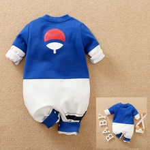 Anime Sasuke Cosplay Clothing  Newborn Baby Boy Clothes Children Overalls Romper Onesie Jumpsuit Out