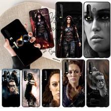 NBDRUICAI The 100 Lexa TV Show Custom Photo Soft Phone Case For Huawei  Y5 Y6 Y7 Y9 Prime 2019  Enjoy 7 8 9 10 Plus