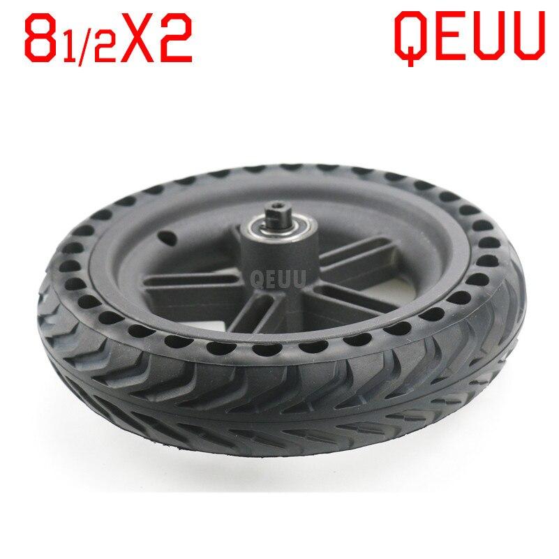 Scooter Eléctrico M365 rueda buje neumático 5 agujeros buje nido de abeja 8 1/2X2 sólido Xiao Mi rueda 8,5X2,0