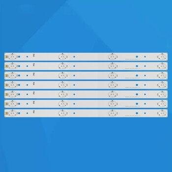 100set LED backlight strip SVH420AB2 AB4 SVH420AA7_4LED for H43MEC3050 LED43K300U H43N5300UK H43M3000 43H7C 43H7C2 LC-43N4000