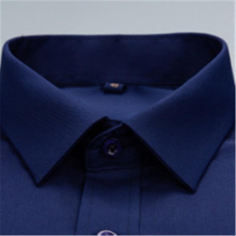 Men's Business Long Sleeve White Blusas Blouse Camisa Masculina Bluzki Bluzka Slim Fit Vestidos Casuales Korean Clothes Koszula