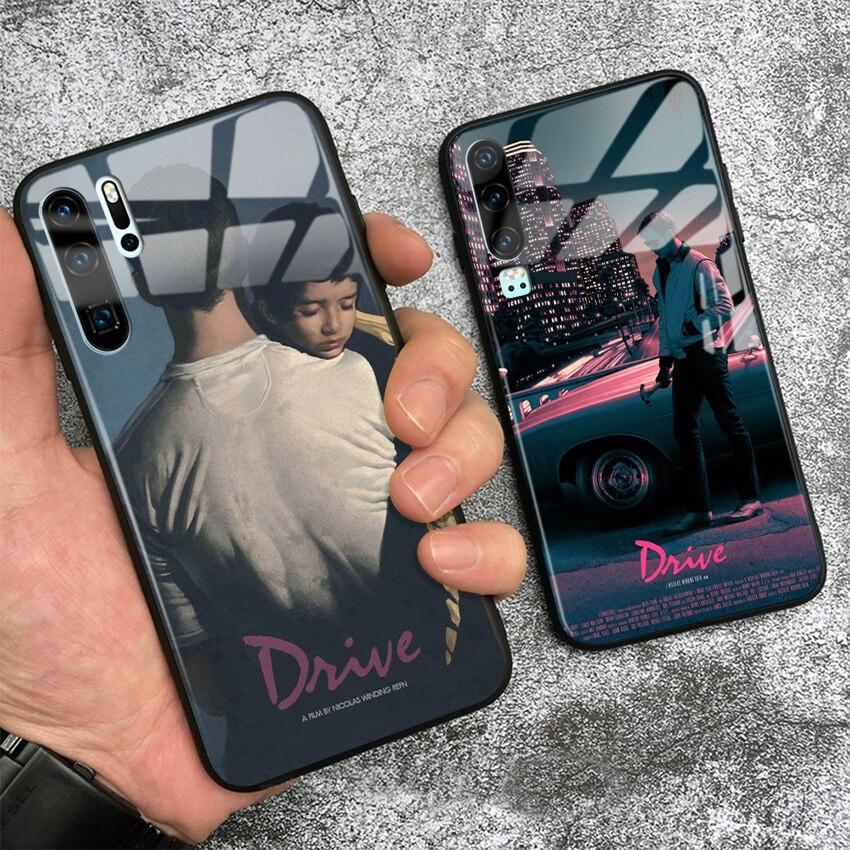 Drive film Poster Ryan Goslin soft silicone glass phone case for Huawei Honor V Mate P 9 10 20 30 Lite Pro Plus Nova 2 3 4 5