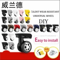 luggage replacement wheels suitcase on wheels replacement 14 30 inch luggage accessories silent wheels for a luggage casters