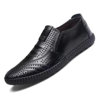 tenis masculino handmade mens wedding shoes black brown leather loafers mens dress shoes slip on business formal shoes for men