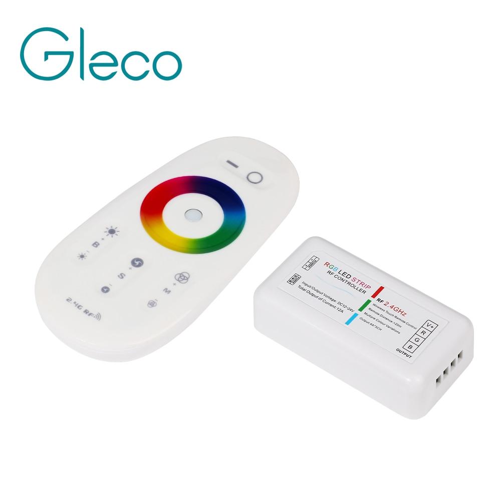 Rgb-контроллер, Светодиодная лента, 2,4G, RGB, беспроводной пульт дистанционного управления, для RGB/RGBW светодиодной ленты 5050