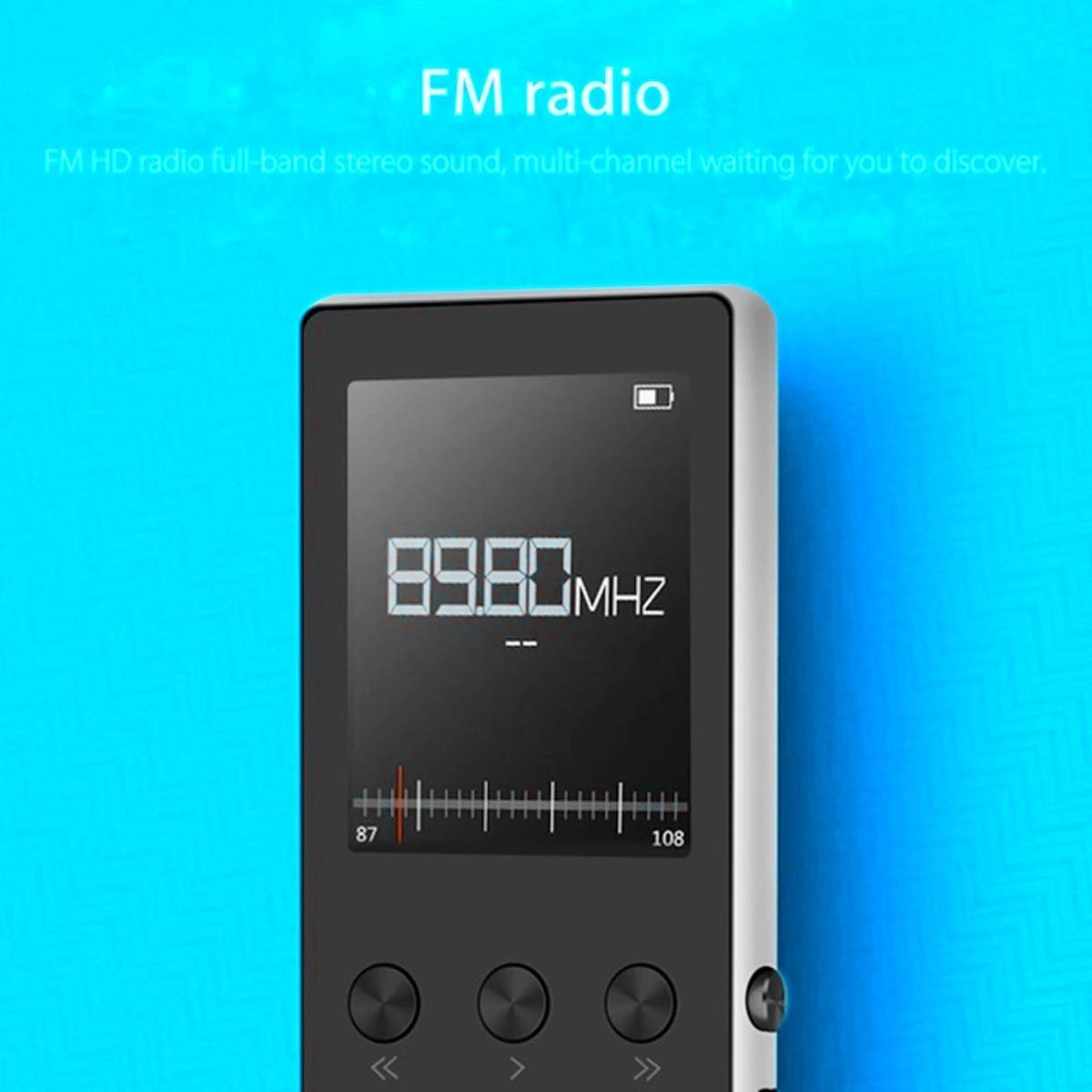 Up To 128GB Bluetooth MP3 Player Earphones HiFi Fm Radio Sport MP 4 HiFi Portable Music Players Voice Recording Recorder TF Car enlarge